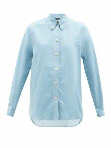 Paco Rabanne - Geometric Metallic-jacquard Dress - Womens - Multi