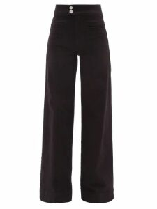 Christian Louboutin - Madmonica 120 Studded Wedge Sandals - Womens - Nude Gold