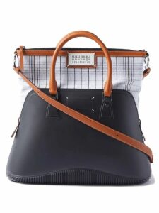 Prada - Oversized Brogue Leather Trainers - Womens - Black