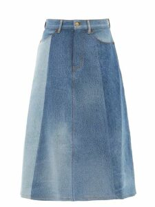 Calvin Klein Performance - Mesh-panel T-shirt - Womens - Black