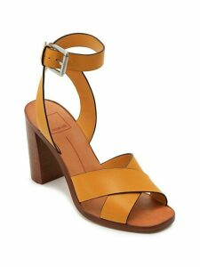 Nala Ankle-Strap Leather Sandals