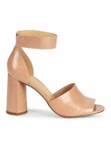 Thandie Leather Heeled Sandals