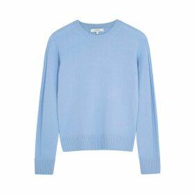Vince Light Blue Cashmere Jumper