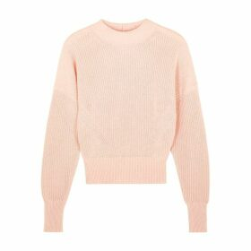 Frame Denim Pink Cotton-blend Jumper