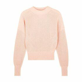 Frame Denim Pink Cotton-blend Jumper