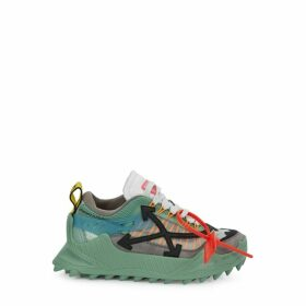Off-White ODSY-1000 Mint Panelled Sneakers