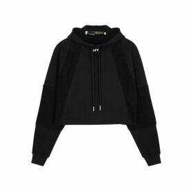 Off-White Black Panelled Cotton Sweatshirt