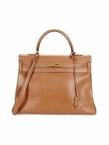 Vintage Courchevel Leather Tote Shoulder Bag