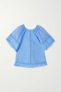 L'Agence - Gabriella Snake-print Silk Crepe De Chine Camisole - Brown