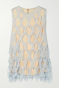 Vetements - Cropped Printed Cotton-jersey Hoodie - Pink