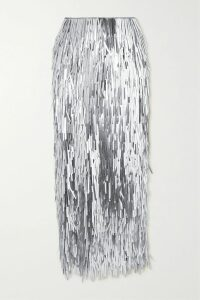 Emilia Wickstead - Petula Floral-print Crepe De Chine Shirt - Baby pink