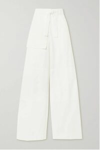James Perse - Ribbed Cotton And Cashmere-blend Tank - Black