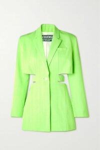 Simone Rocha - Floral-print Stretch-jersey Turtleneck Top - Black