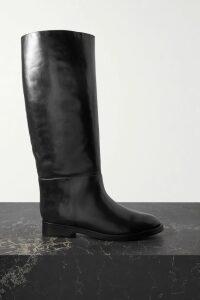 Racil - Casablanca Double-breasted Pinstriped Linen Blazer - Beige