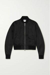 Sacai - Tasseled Cape-effect Wool-blend Jacquard Turtleneck Sweater - Gray