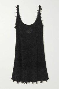 Missoni - Metallic Crochet-knit Mini Dress - Red