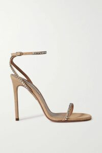 Temperley London - Suki Satin-trimmed Metallic Fil Coupé Chiffon Top - Black