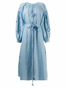 Vita Kin belted tunic dress - Blue