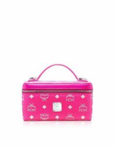 MCM Designer Handbags, Visetos Original Rockstar Vanity Case