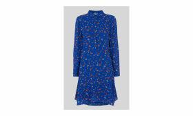 Ditsy Floral Print Shirt Dress