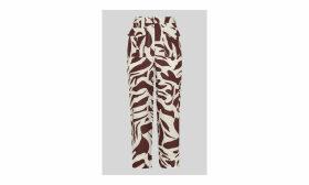 Ella Zebra Print Linen Trouser