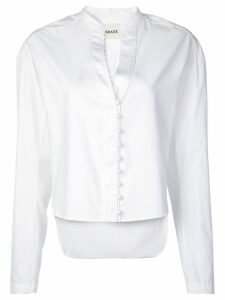 Khaite front button fastening blouse - White
