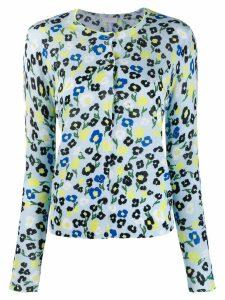Escada Sport floral print shirt - Blue