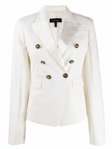 Escada double-breasted tailored blazer - White