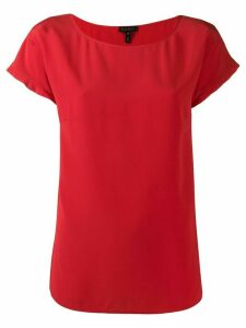 Escada shortsleeved blouse - Red