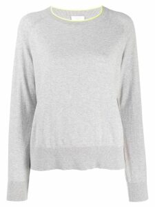 Escada Sport round neck jumper - Grey