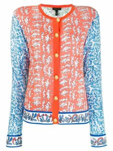 Escada tie print cardigan - Multicolour