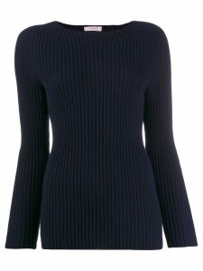 Liska ribbed jumper - Blue