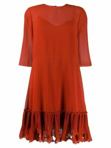 See By Chloé embellished Georgette dress - Red