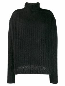 Marni ribbed jumper - Black