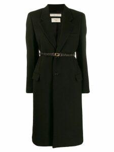 Bottega Veneta single-breasted coat - Black
