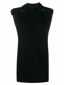 MRZ ribbed knit jumper - Black