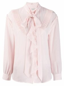 Coach glam rock prairie top with ruffles - PINK