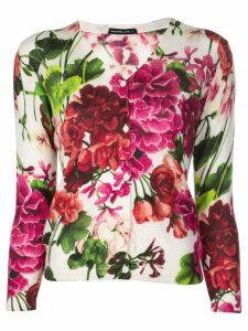 Samantha Sung Charlotte blossom print cardigan - Pink