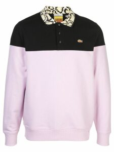 Opening Ceremony x Lacoste polo sweatshirt - Purple