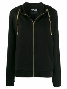 Versace Jeans Couture chunky chain cardigan - Black