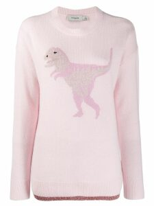 Coach Rexy knit jumper - Pink