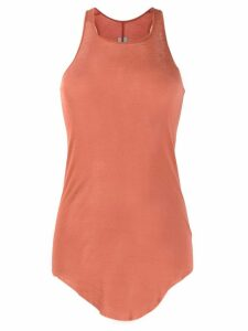 Rick Owens long-line tank top - PINK