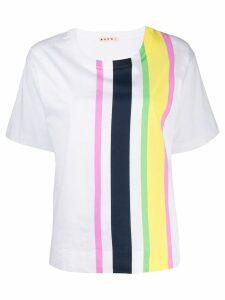 Marni striped T-shirt - White