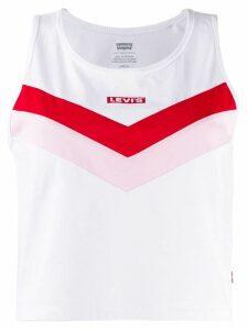 Levi's logo vest top - White