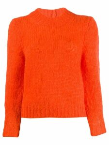 Isabel Marant chunky knit jumper - ORANGE