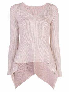 Sies Marjan Grace melange sweater - PINK