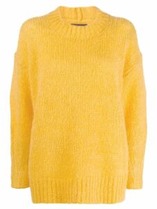 Isabel Marant chunky knit jumper - Yellow