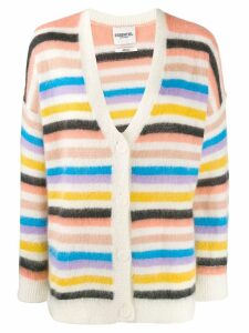 Essentiel Antwerp striped cardigan - PINK