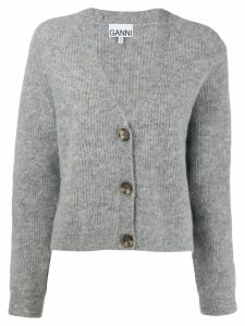 Ganni oversized cardigan - Grey