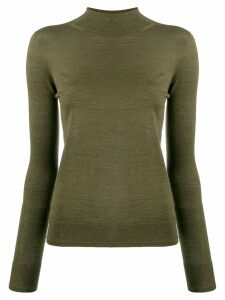 Ermanno Scervino high neck jumper - Green